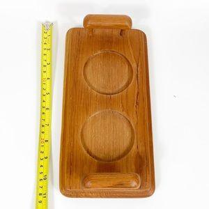 Vintage Kitchen - Vintage Teak Goodwood Condiment Relish Set Tray